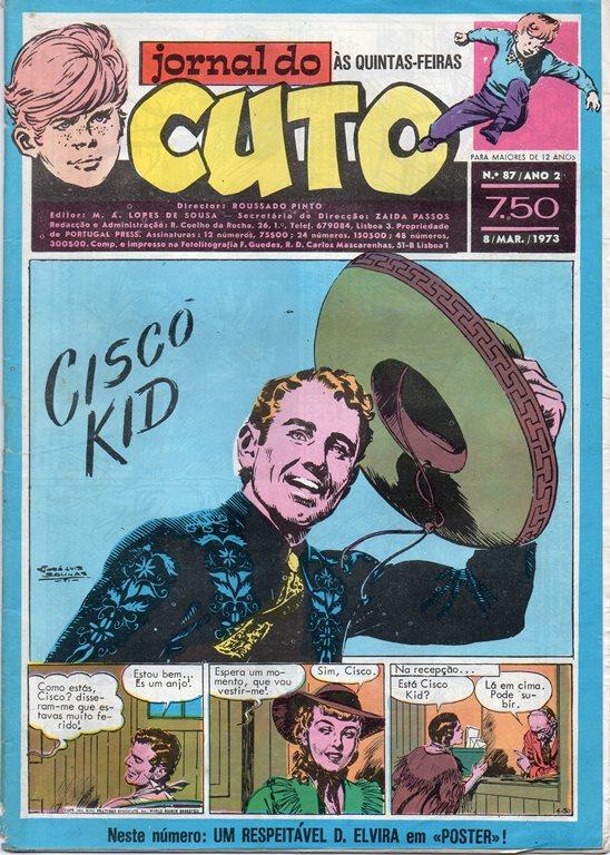 CISCO KID - 12 . SALVO POR MULHERES