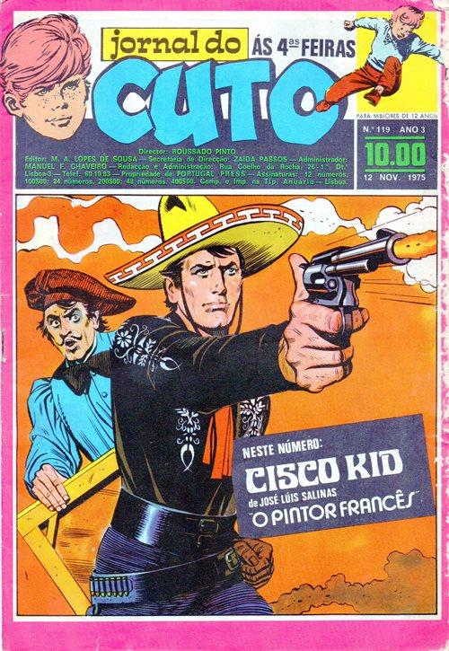 CISCO KID - 13 . PINTOR FRANCÊS (O)