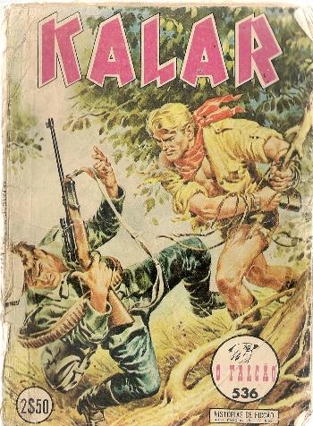 KALAR - 8 . HOMENS GORILAS (OS)