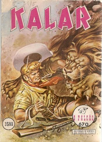 KALAR - 18 . VALE DA MALDIÇÃO (O)