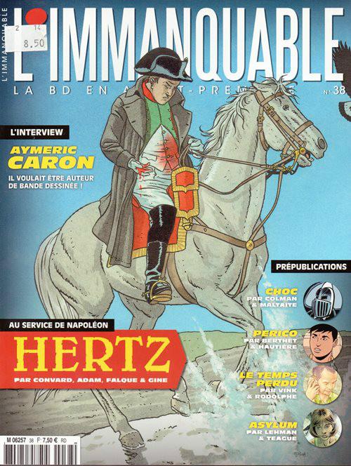 HERTZ - 4 . OMBRE DE L'AIGLE (LE)