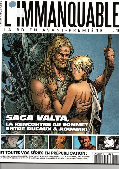 Capa  SAGA VALTA - 1 . SAGA VALTA - TOME 1