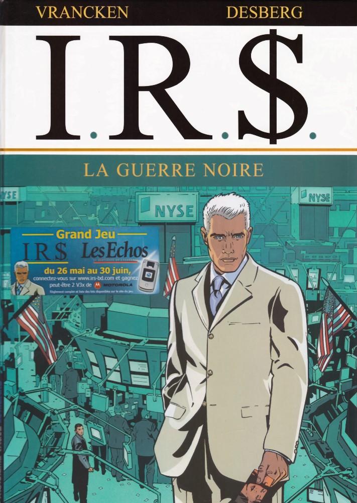 Capa  I.R.$. - 8 . GUERRE NOIRE (LA)