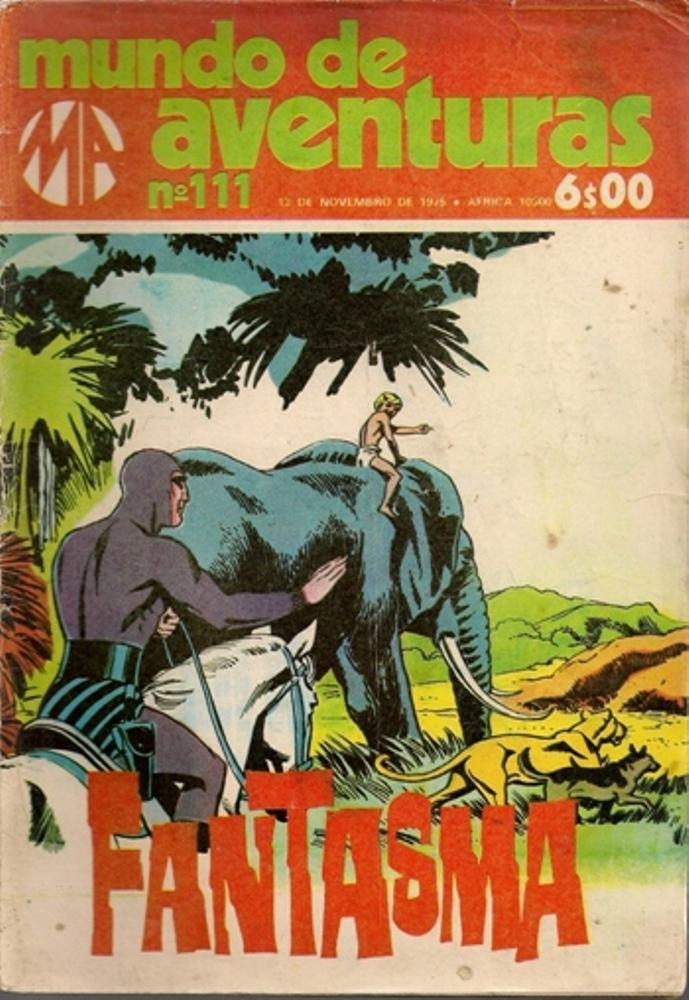 FANTASMA - 11 . HISTÓRIA DE JUMBO (A)