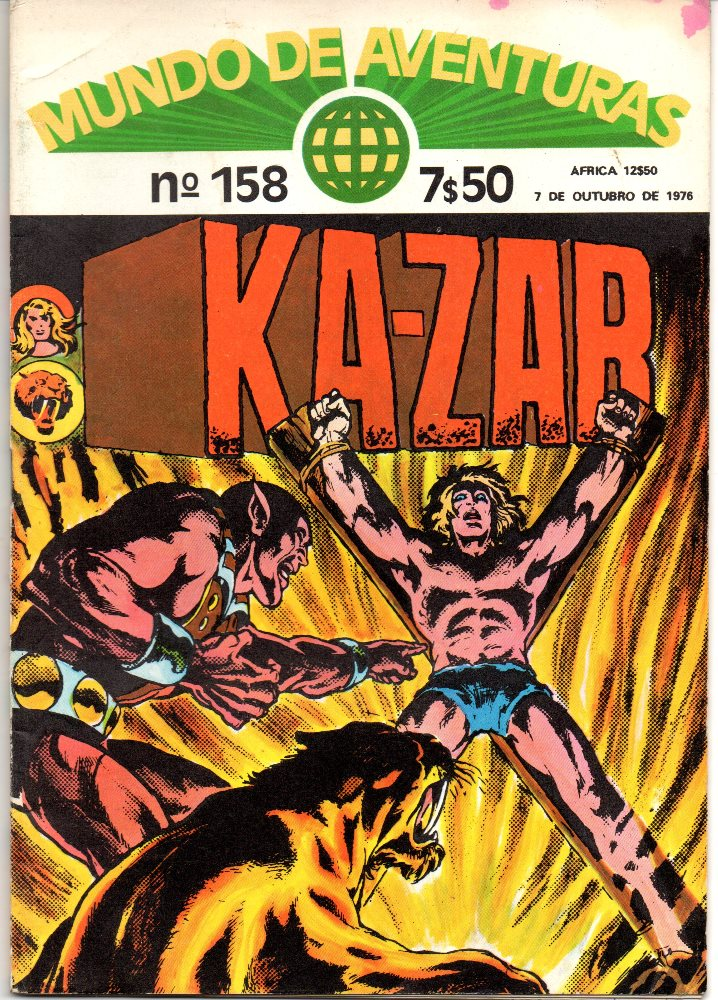 KA-ZAR - 3 . TOCA DE KA-ZAR! (A)