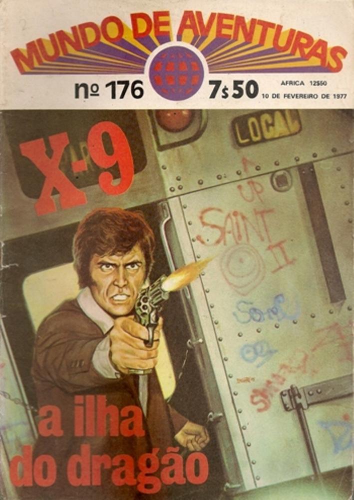 AGENTE SECRETO X-9 - 6 . ILHA DO DRAGÃO (A)