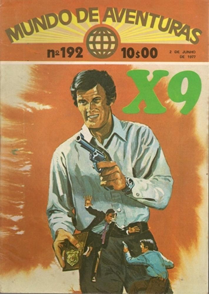 AGENTE SECRETO X-9 - 7 . PRÍNCIPE AMED (O)