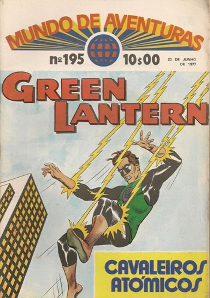 GREEN LANTERN - 3 . AMEAÇA DA MARIONETA GIGANTE