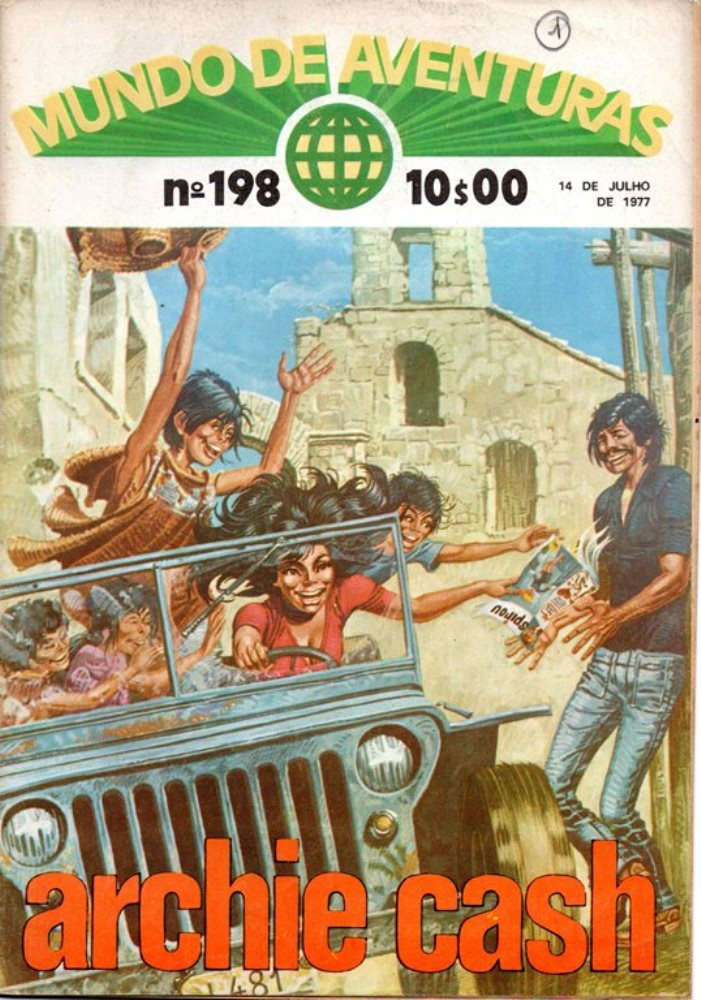 ARCHIE CASH - MUNDO DE AVENTURAS - 5ª SÉRIE  . N.º 198