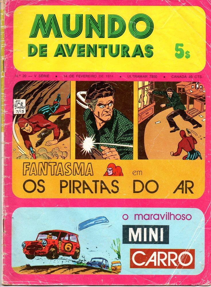 FANTASMA - 7 . PIRATAS DO AR (OS)
