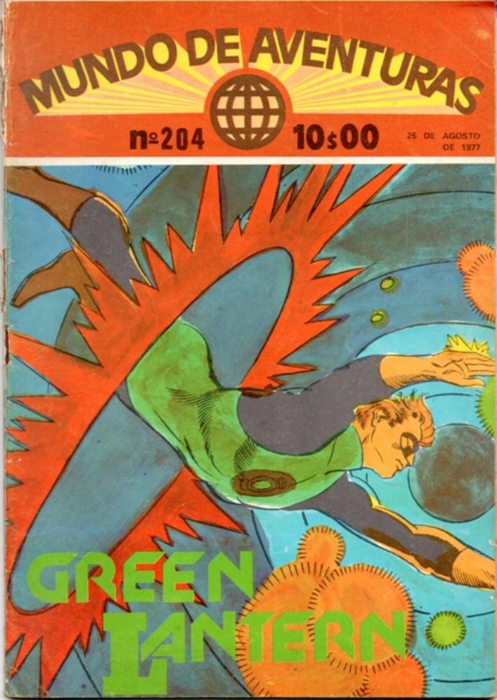 GREEN LANTERN - 4 . SEGREDO DOS RAIOS DOURADOS (O)