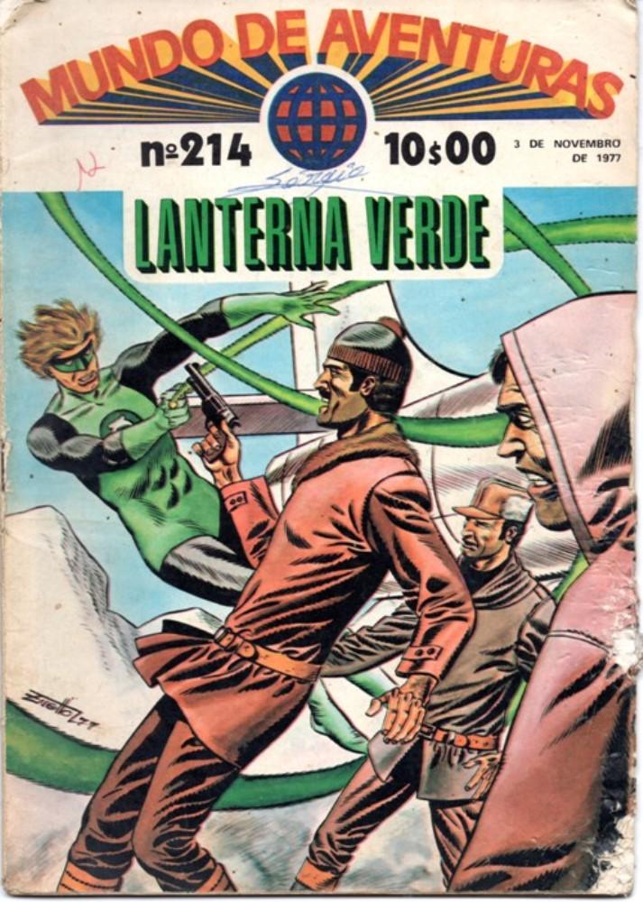 GREEN LANTERN - 5 . ENIGMA DA CIDADE GELADA (O)