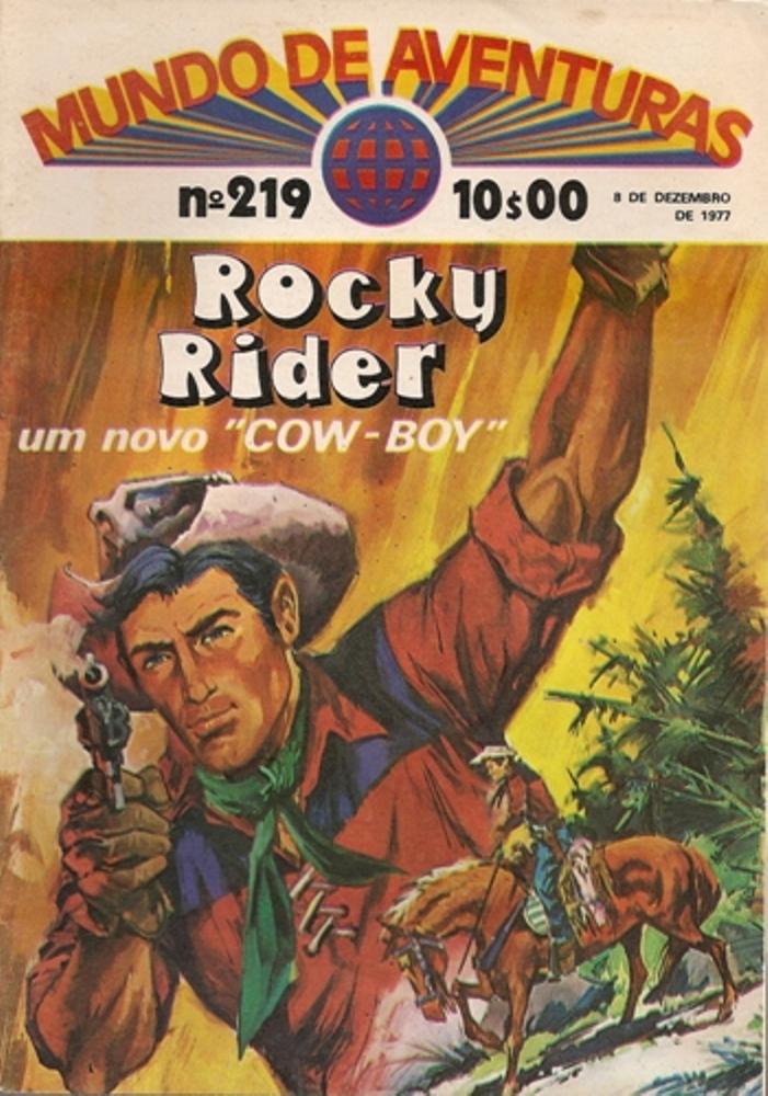 ROCK RYDER - 1 . BANDIDO A MENOS (UM)