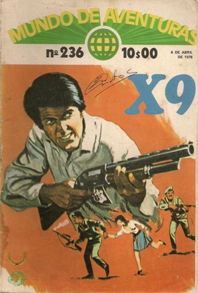 AGENTE SECRETO X-9 - 10 . RESGATE POR UM FILME