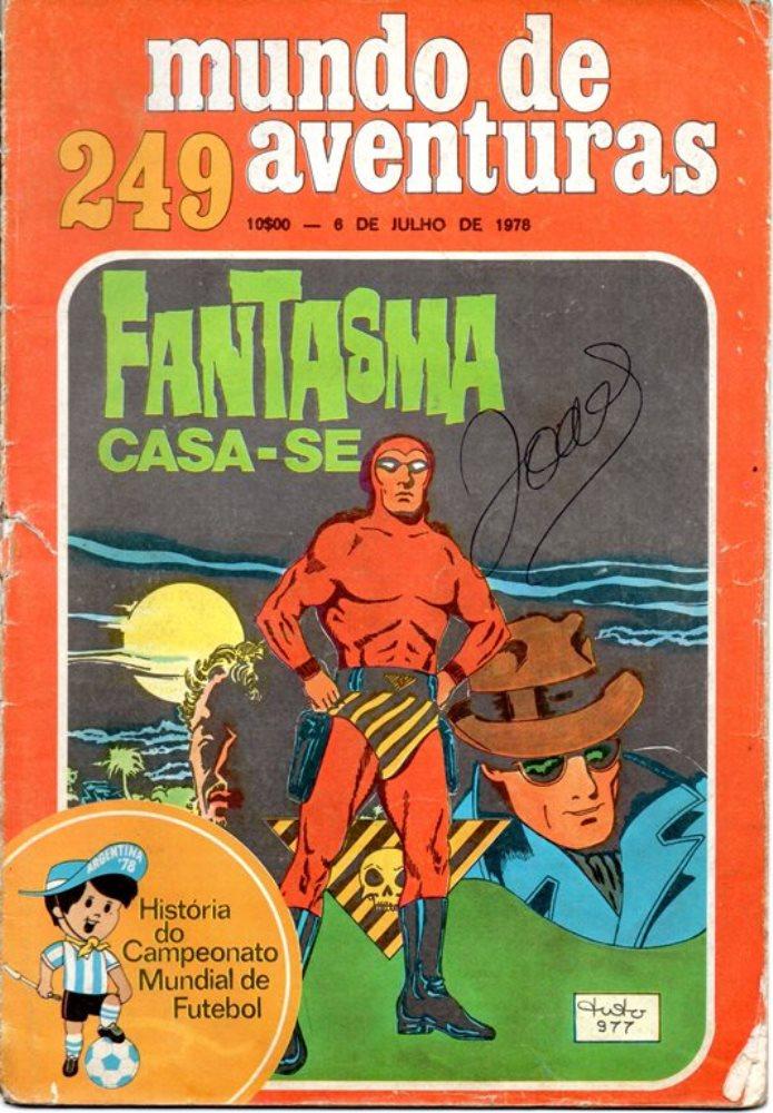 FANTASMA - 24 . CASAMENTO DO FANTASMA (O)