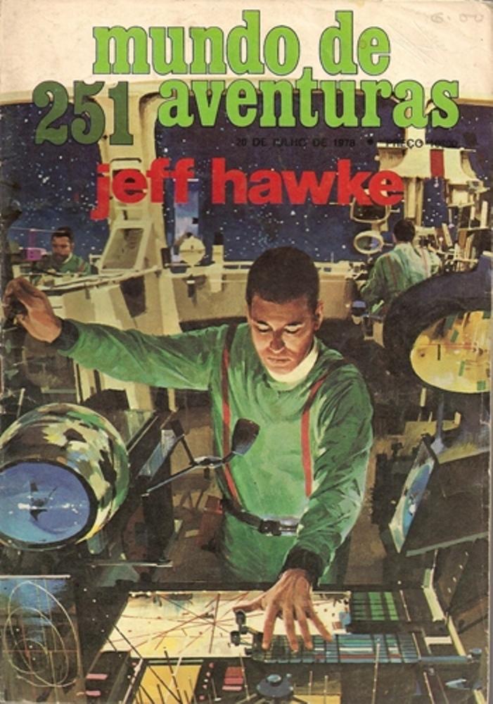 JEFF HAWKE - 2 . ANDRÓIDES DA DESTRUIÇÃO (OS) (TIRAS 0511 A 0642)