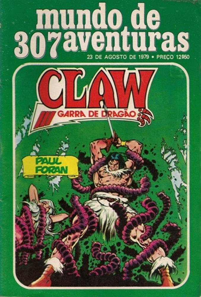 CLAW - 3 . LANÇA DE SANGUE (A)