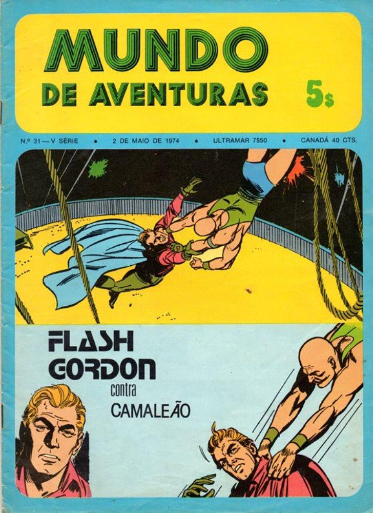 FLASH GORDON - 8 . CONTRA CAMALEÃO