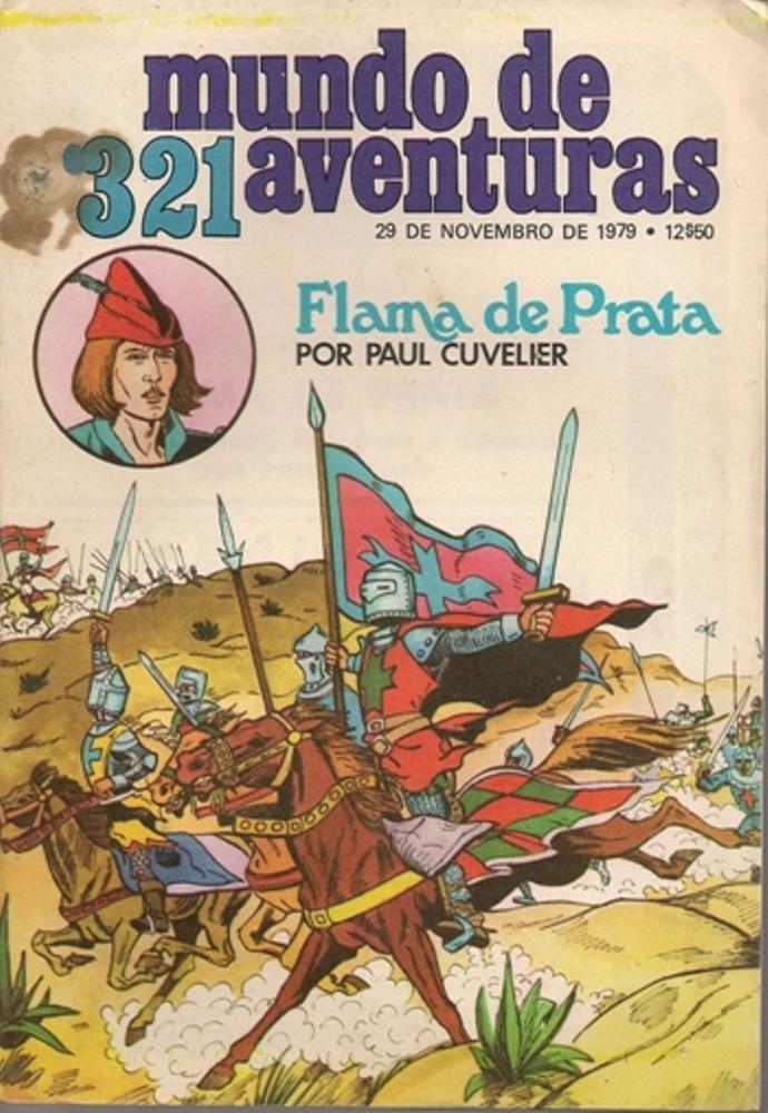 FLAMA DE PRATA - 3 . CRUZADO SEM NOME (O)