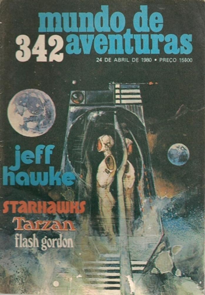 JEFF HAWKE - 5 . NÁUFRAGO DO ESPAÇO (O) (TIRAS 0927 A 1054)