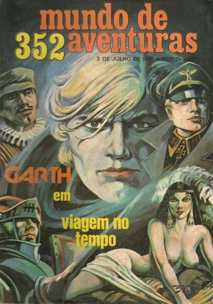 GARTH - 14 . VIAGEM NO TEMPO
