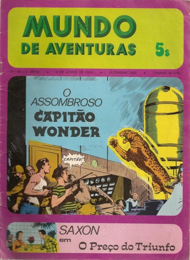 CAPITÃO WONDER (O) - 1 . ASSOMBROSO (O)