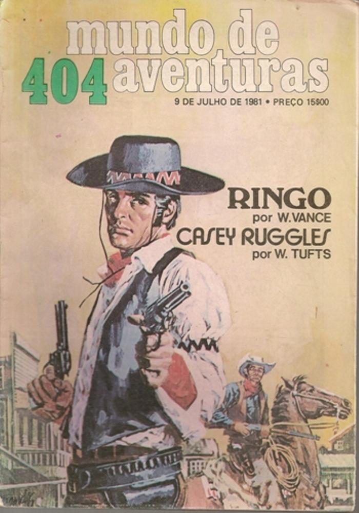 RINGO - 5 . OURO DOS FUGITIVOS (O)