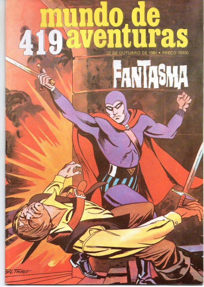 FANTASMA - 37 . LENDA DA BRUXA (A)