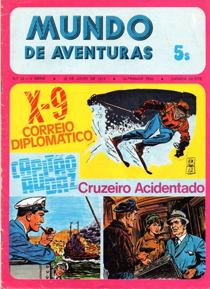 AGENTE SECRETO X-9 - 1 . CORREIO DIPLOMÁTICO
