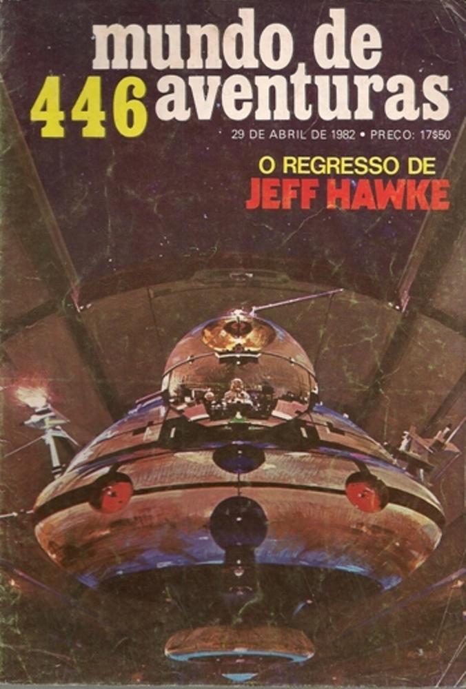 JEFF HAWKE - 6 . CONTACTO IMPOSSÍVEL (TIRAS 1098 A 1197)