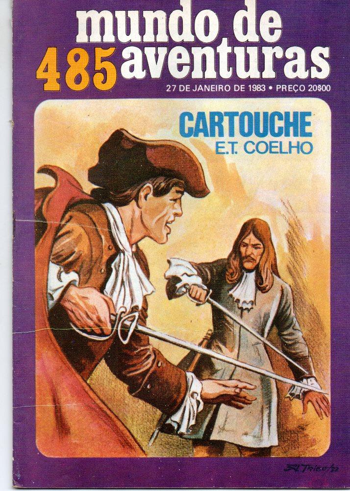 CARTOUCHE - 7 . MOEDA DE OURO (A)