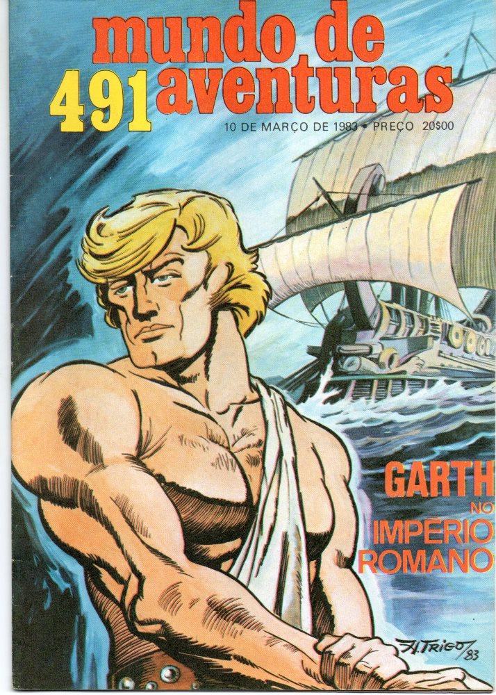 GARTH - 23 . LEGIÃO DOS DANADOS (A)