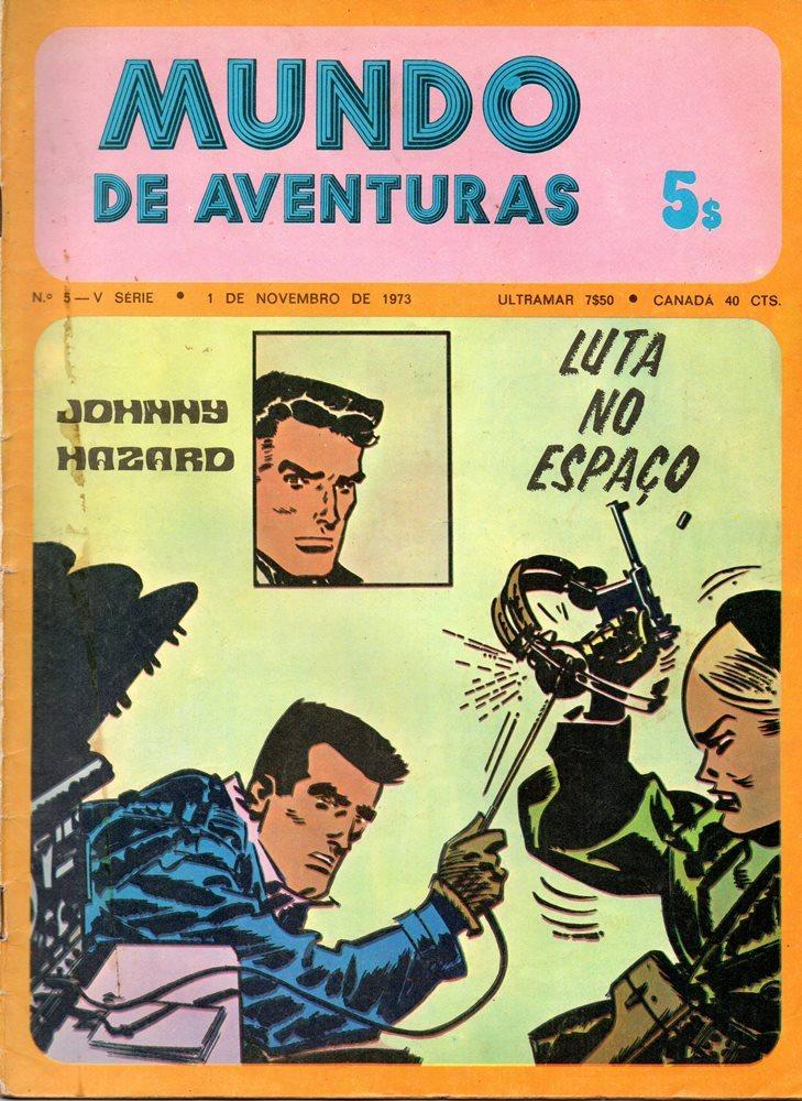 JOHNNY HAZARD - 12 . LUTA NO ESPAÇO