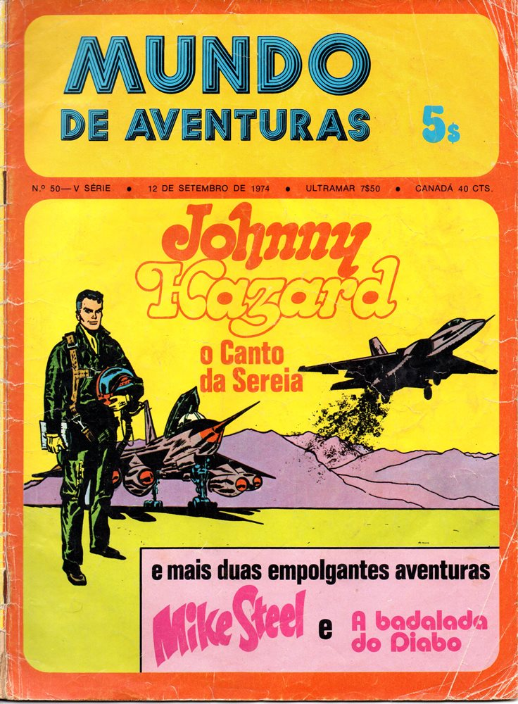 JOHNNY HAZARD - 11 . CANTO DA SEREIA (O)