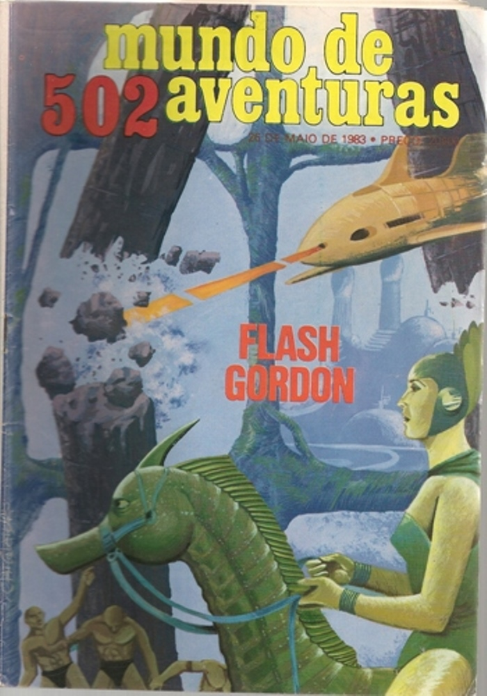 FLASH GORDON - 29 . FLASH GORDON VII
