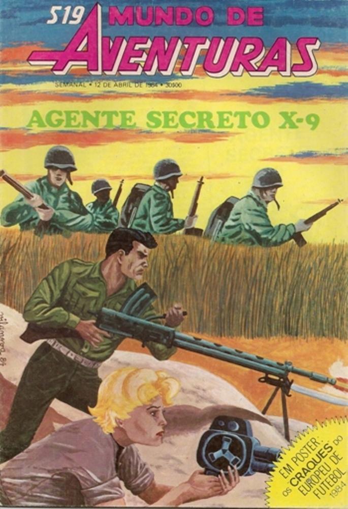 AGENTE SECRETO X-9 - 18 . MISSÃO NO VIETNAME