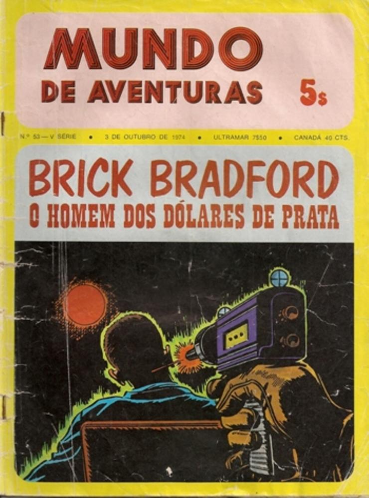 BRICK BRADFORD - 1 . HOMEM DOS DÓLARES DE PRATA (O)
