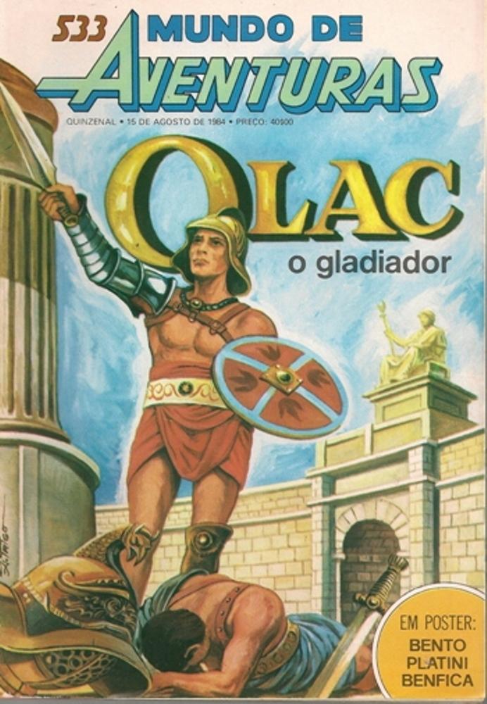 OLAC, O GLADIADOR - 2 . OLAC
