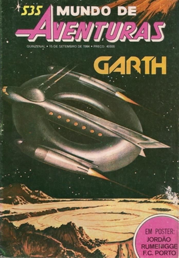 GARTH - 27 . ESQUADRÕES DO ESPAÇO
