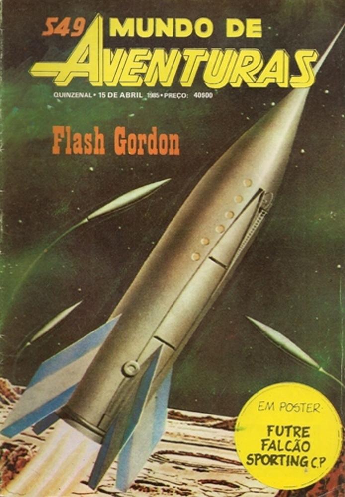 FLASH GORDON - 32 . FLASH GORDON X