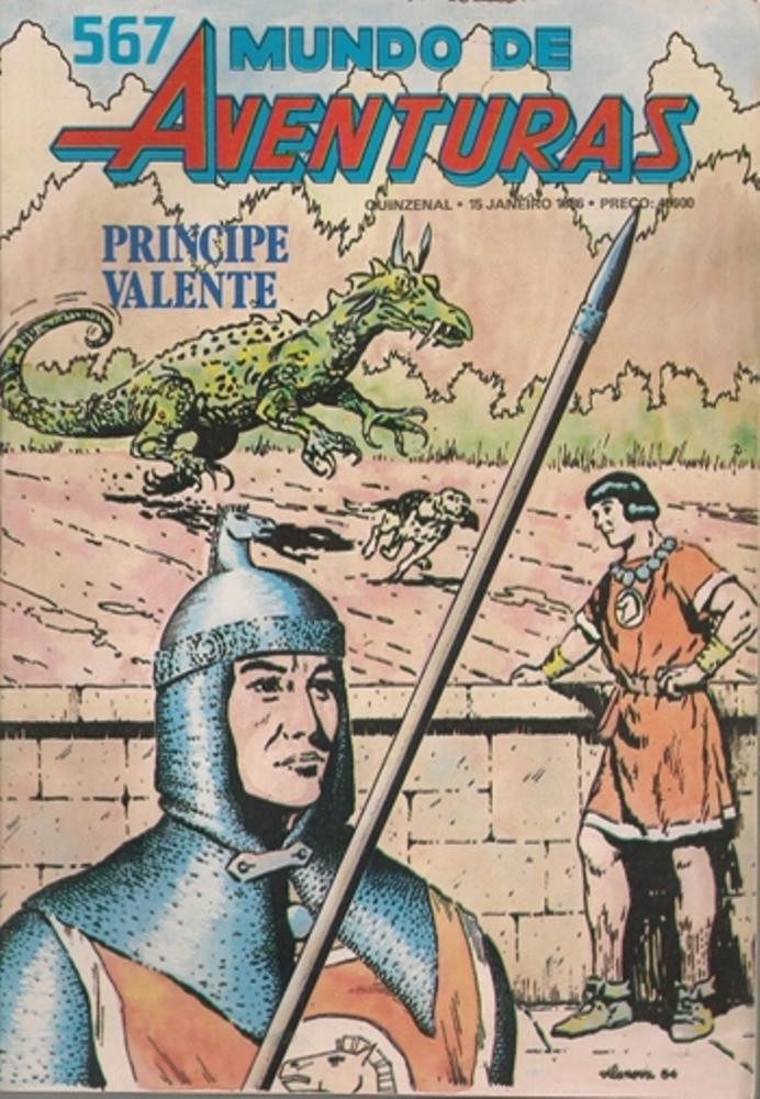 PRÍNCIPE VALENTE - 21 . PRÍNCIPE VALENTE XIII