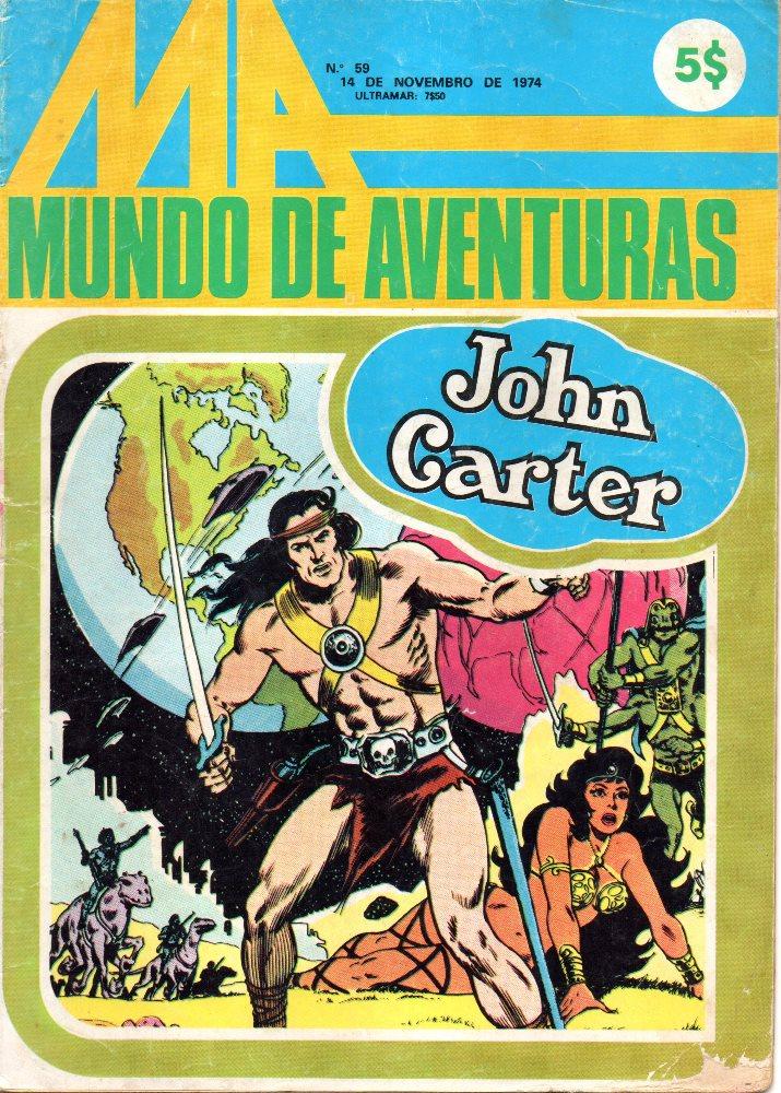 JOHN CARTER - 1 . JOHN CARTER DE MARTE