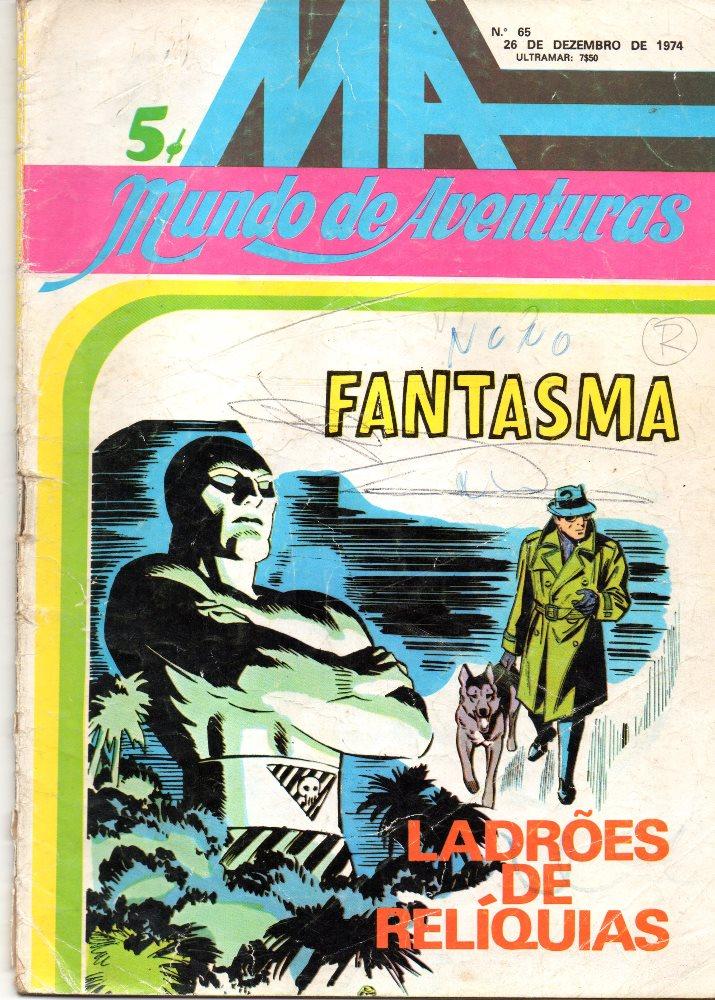 FANTASMA - 8 . LADRÕES DE RELÍQUIAS