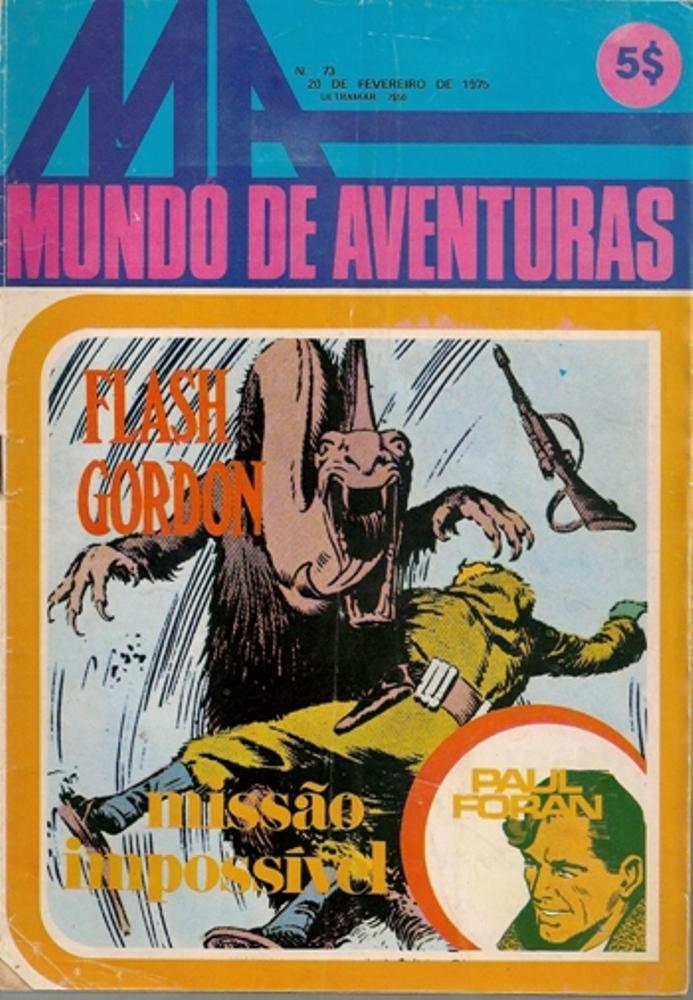 FLASH GORDON - 10 . MISSÃO IMPOSSÍVEL (*)