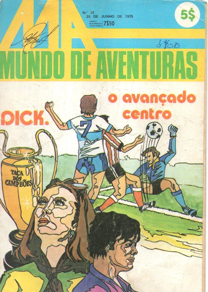 DICK, O AVANÇADO DE CENTRO - 2 . DICK, O AVANÇADO DE CENTRO II