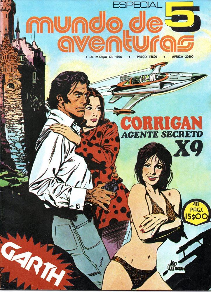 AGENTE SECRETO X-9 - MUNDO DE AVENTURAS - ESPECIAL . N.º 5