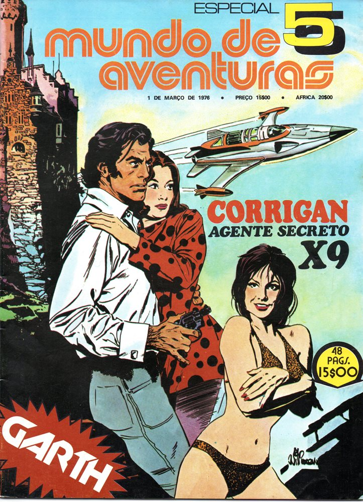 AGENTE SECRETO X-9 - 4 . AGENTE SECRETO X-9