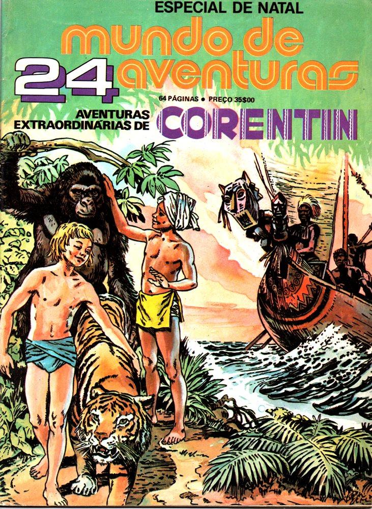CORENTIN - 1 . EXTRAORDINÁRIA ODISSEIA DE CORENTIN (A)