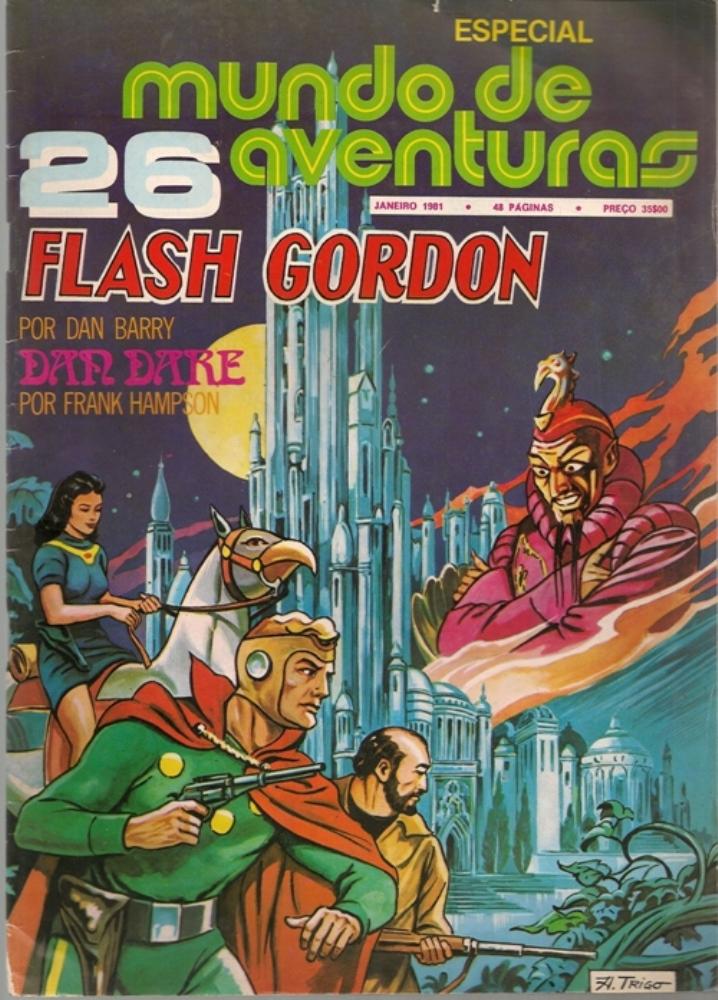 FLASH GORDON - 5 . NO PLANETA TANIUM