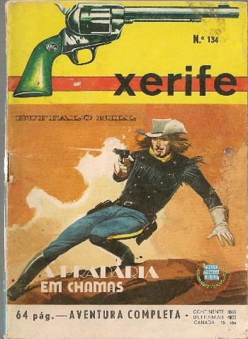 BUFFALO BILL - 7 . PRADARIA EM CHAMAS (A)